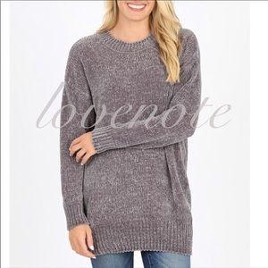 🍁 S-XL Softest Chenille Crew Round Neck Sweater